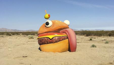 Fortnite: hamburguesas en el desierto y portales interdimensionales. Así se las gasta Epic
