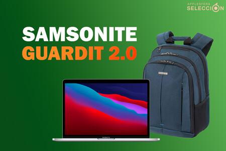 La mochila Samsonite GuardIT 2.0 protege tu MacBook y iPad durante los transportes por 25,59 euros en Amazon, su mínimo histórico