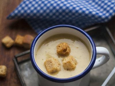 Sopa griega de garbanzos. Receta con y sin Thermomix