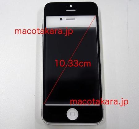 Nuevo formato de pantalla en el iPhone 5