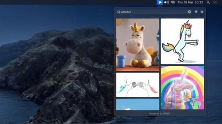Esta app gratuita para macOS te permite buscar y encontrar GIFs desde la barra de menú