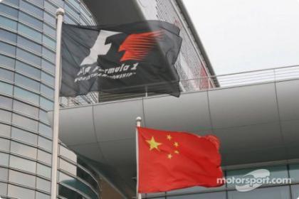 Los horarios del Gran Premio de China en Shanghai