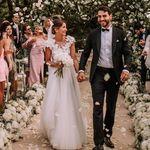 El segundo vestido de novia de Alexandra Pereira (Lovely Pepa) viene cargado de brillo