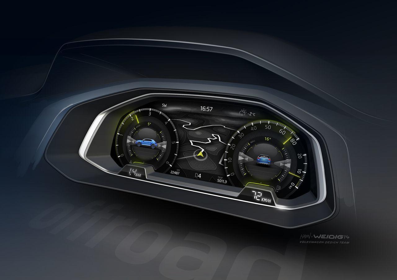 Foto de Volkswagen T-ROC (bocetos) (8/9)