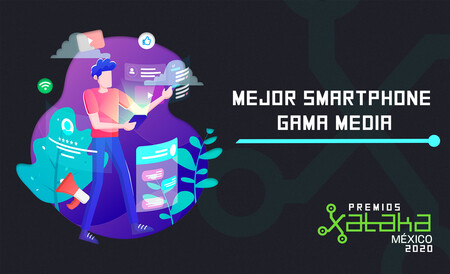 Mejor smartphone gama media, vota por tu favorito en los premios Xataka México 2020