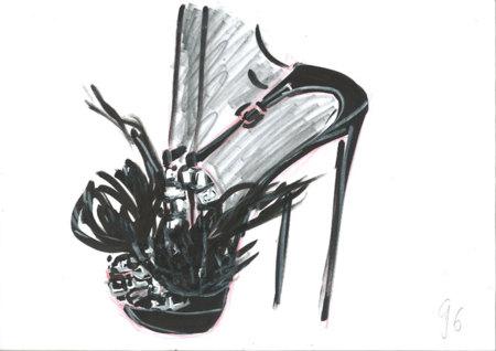 A Queen Forever, el zapato de Roger Vivier: joyas para los pies