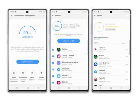 Samsung Galaxy Note 10 Plus Mantenimiento