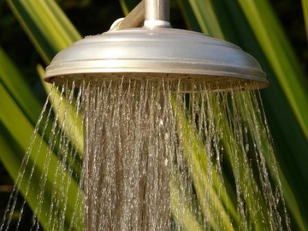 Aprovecha el tiempo en la ducha