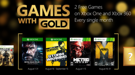 MGSV: Ground Zeroes, Metro: Last Light y How to Survive, estos son los Games With Gold de agosto