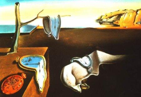 Melting clock, un reloj como los de Dalí