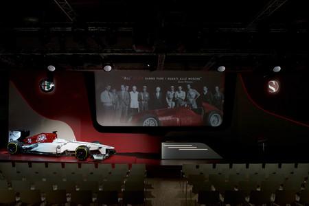 Alfa Romeo Sauber Presentacion