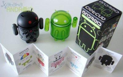 Merchandising sobre Android: los mini bots oficiales