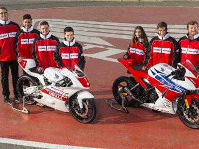 Honda crea un equipo de Moto3 y continua apoyando a los jóvenes con la Copa Honda CBR300R