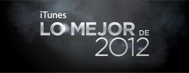 Lo Mejor de 2012 en la iTunes Store de Música y Películas
