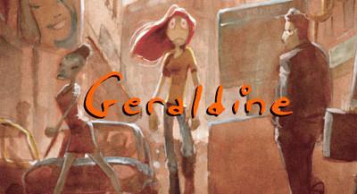 'Geraldine' un corto animado de Arthur des Pins