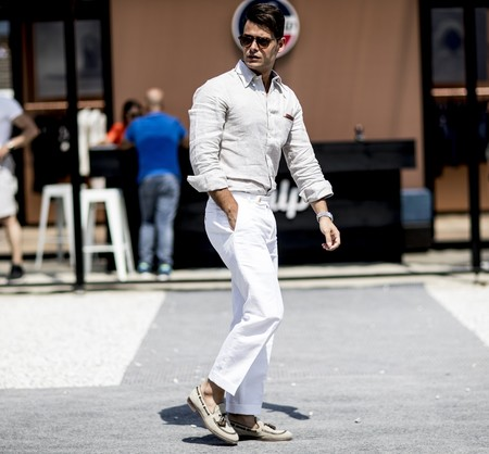 Pantalones Blancos 14
