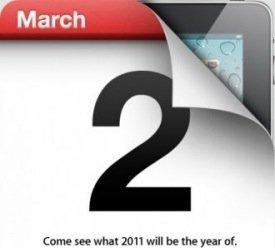 Nuevo iPad 2, hoy es el día