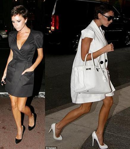 Victoria Beckham pasea su nuevo corte de pelo por las calles de Nueva York
