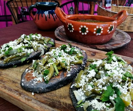 Tlacoyos Comida Mexicana Receta Facil Cocina Tradicional Garnachas