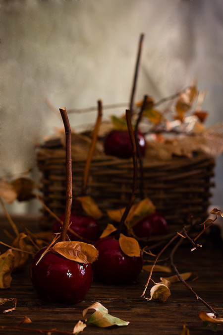 Manzanas Con Caramelo Web