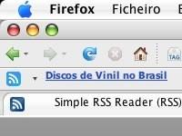Simple RSS Reader, extensión para Firefox