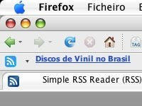 Simple RSS Reader, extensión para Firefox