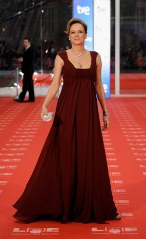 Emma Suarez Premios Goya 2011
