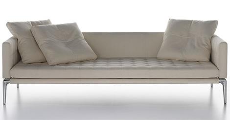 sof en piel de philippe starck. Black Bedroom Furniture Sets. Home Design Ideas