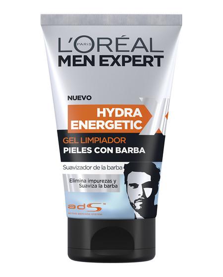 Gel limpiador pieles con barba