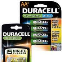 Pilas recargables de Duracell sin efecto memoria