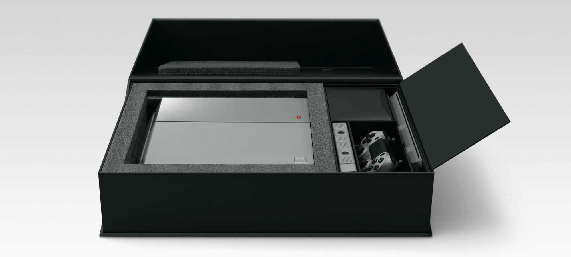 Foto de PlayStation 4 Edición Limitada 20 Aniversario (2/6)