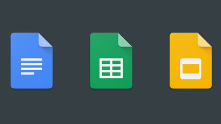 documentos hojas de cálculo y presentaciones de google reciben más