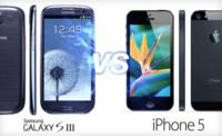 Comparativa del nuevo iPhone 5 con el Samsung Galaxy S III, cuando la letra pequeña es lo más importante