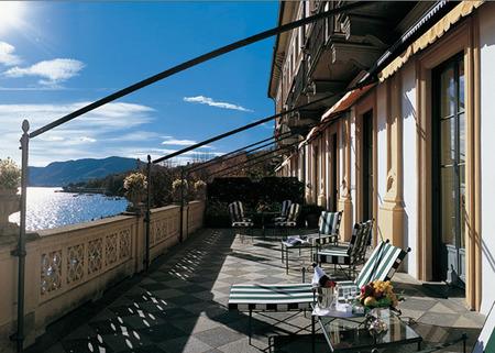 Terraza desde suite villa d
