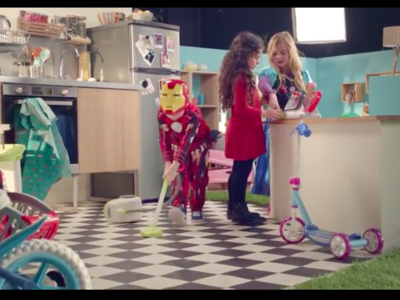 Ni de niños ni de niñas, son sólo juguetes: un fantástico anuncio