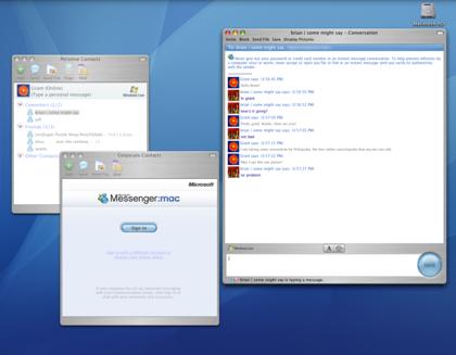 Microsoft Messenger para Mac