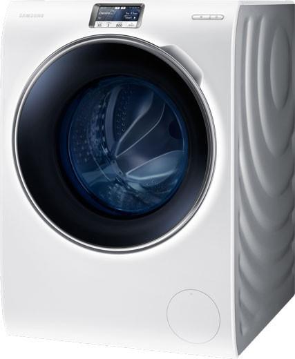 Samsung WW9000 es una lavadora futurista en el presente