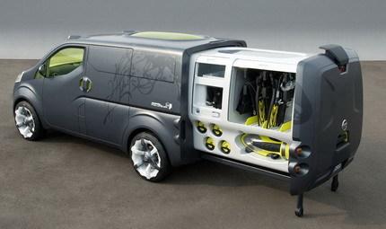 Nissan NV200 Concept, más información y fotos