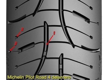 Michelin Pilot Road 4 Delantero