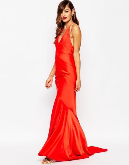 Maxi Vestido Rojo Asos