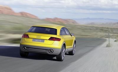 ¿Un Audi TT crossover? Podría volverse realidad