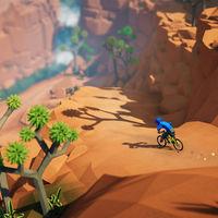 Lonely Mountains: Downhill recibirá un DLC con una nueva isla volcánica que podremos recorrer en bici