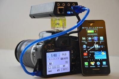CamsFormer: disparador de alta velocidad, control remoto inalámbrico, Live View remoto y más en un solo dispositivo