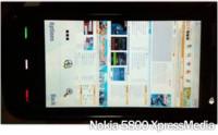 Primeras imágenes del navegador del Nokia 5800