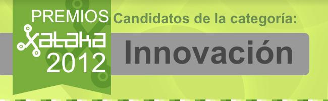 Mejor innovación 2012, candidatos