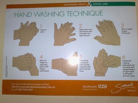 Técnica lavado manos