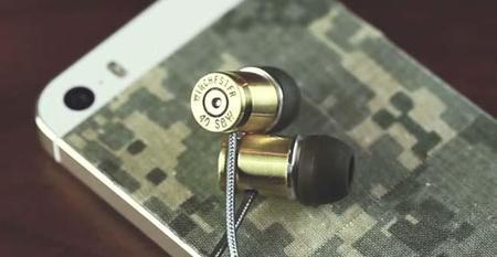 Así es como podemos hacer unos audífonos con dos balas