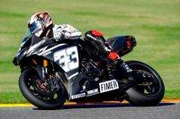 Marco Melandri bate la vuelta rápida de Cheste nada más subirse a la Yamaha