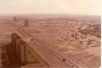 La espectacular transformación de Dubai