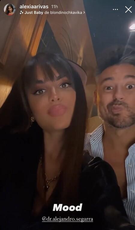 Alexia Rivas y Alejandro Segarra en Instagram